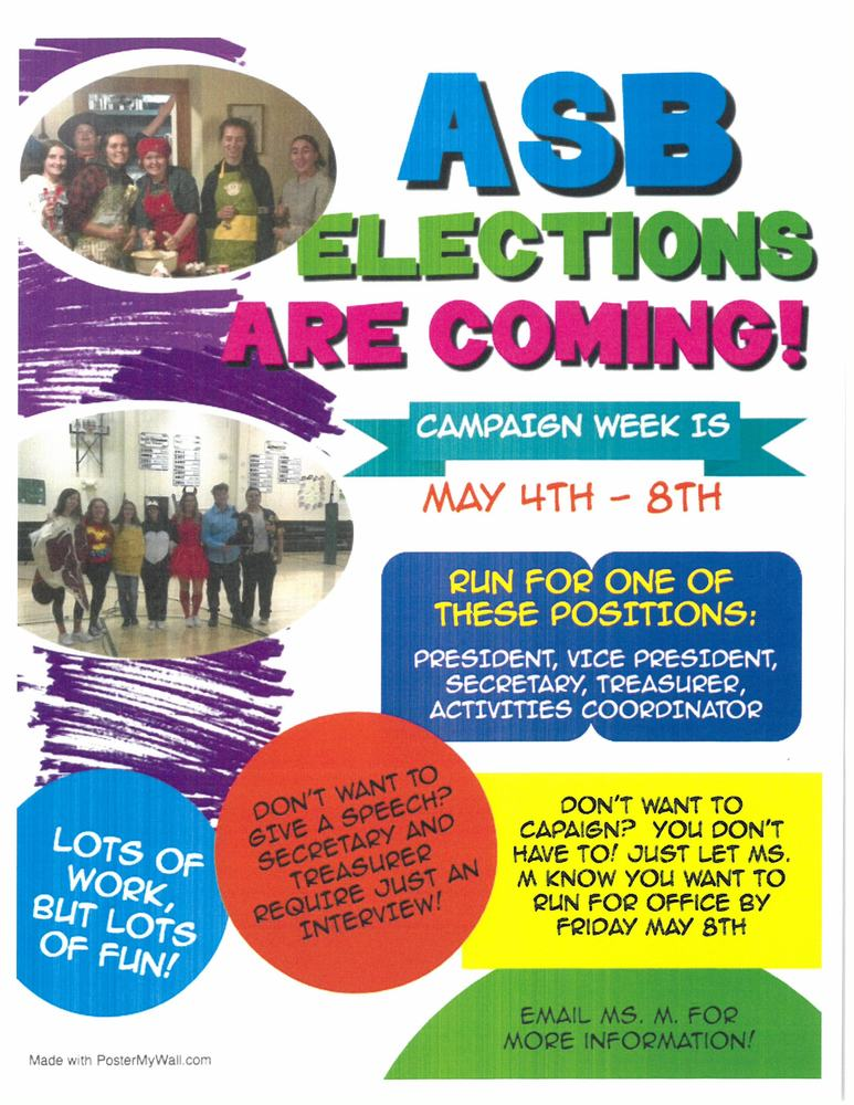 ASB Elections Are Coming!